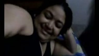 Indian porn mms clip of chubby bhabhi with her servant