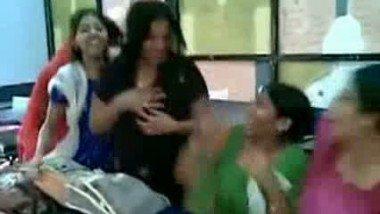 School Girls Having Fun