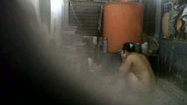 Voyeur Bathing Indian Babe Innocent