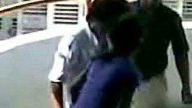 Desi Couple Kissing And Hugging