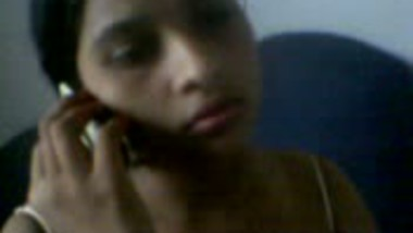 On the Phone Naked
