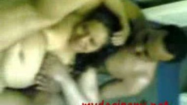 Indian call girl Renu with her two client in hotel room