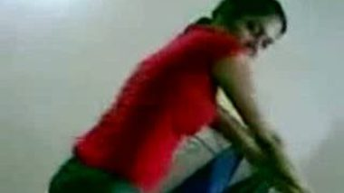 Desi Hostel Girl Is Dancing Like A Whore In Front of Her Friends