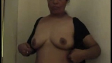 Busty Andhra Aunty Strips Before Blowjob And Doggy Style
