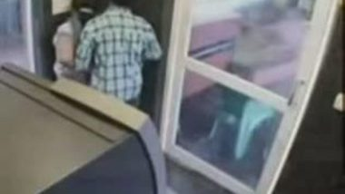 Leaked desi hidden cam sex on ATM