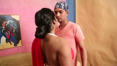 Bollywood horny teacher seduces college guy for sex