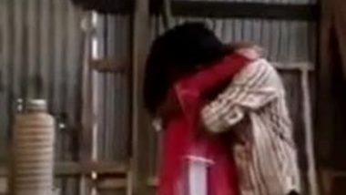 Hidden cam mms of Bangladeshi village girl outdoor romance with lover