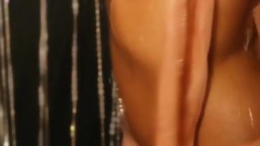 Gorgeous Sleek Brunnette In A Sexy Shower Scene