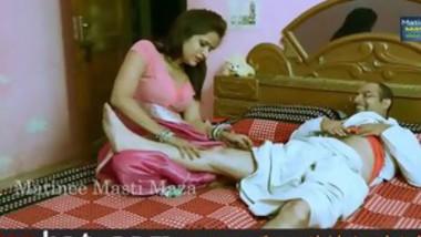 hindi hot short bhabhi garam making romance without blouse -
