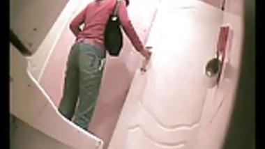 Behind Toilet Voyeur IV