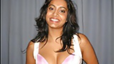 Desi Chick Covered In Boyfriend's Load