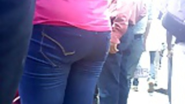 indian jeans gans ass
