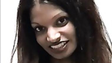 Pretty Skinny Indian Babe