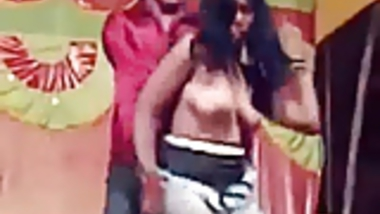 Indian Couples Dance Topless at Public Talent Show