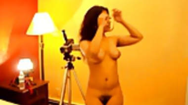Indian NRI ready for photo shoot nude
