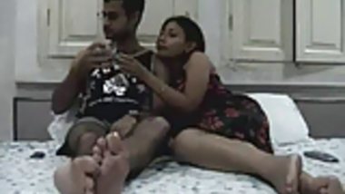 Amateur Indian Couple Honeymoon
