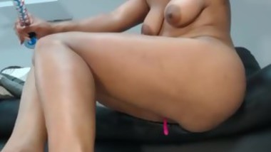 Sexy Busty Milf Solo Show With Toy