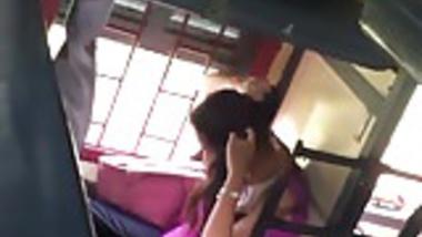 Hot indian girl in train