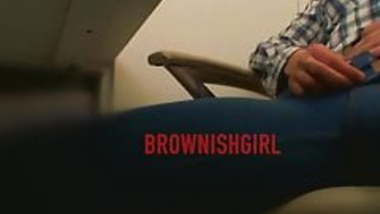 can't control myself at work:BROWNISHGIRL