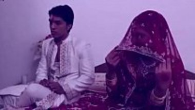 Hot suhagrat video of a newly married couple