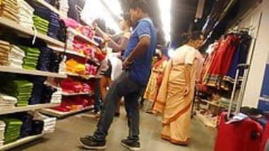 mini skirt in mall