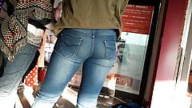 Indian Girl Tight Jeans Butt 5.