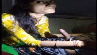 Hot Punjabi Girl's Erotic Cock Sucking Video