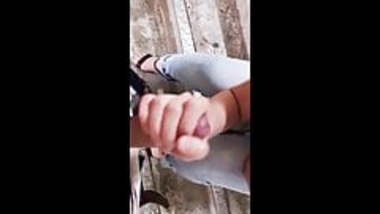aaliya giving handjob to suraj on stairs