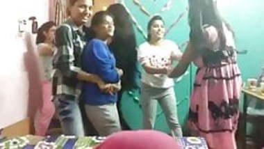Me & my friend dance in hostel