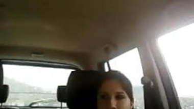 Desi couple fingering in car